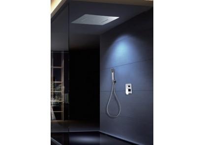 Rociador rectangular integrado para ducha