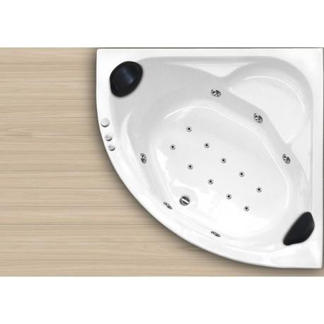 Bañera ALASKA 140x140 doble sistema