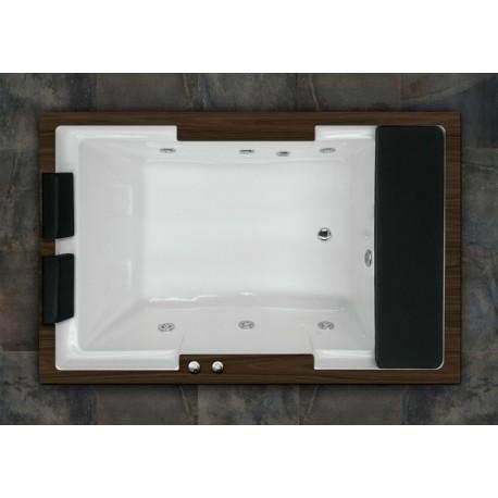 Bañera ROMA 185 x 120 sistema basico y madera