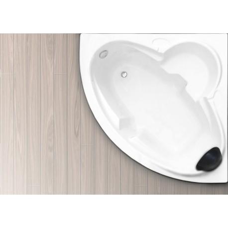 Bañera OSLO 135x135 sin hidro y reposacabezas