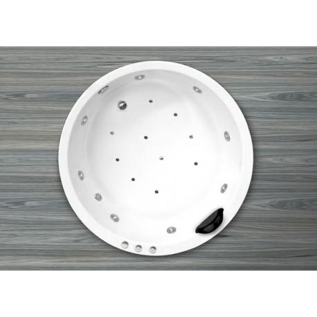 Bañera HAITI Doble Sistema diám.140