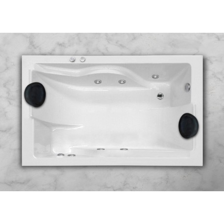Bañera MICHIGAN sistema básico 170/180x110/120