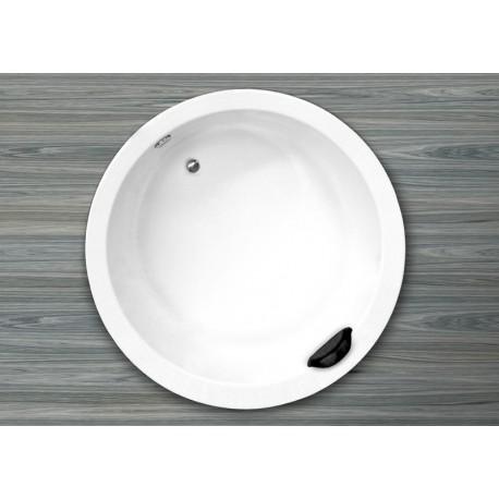 Bañera modelo HAITI sin hidromasaje con reposacabezas diám.150