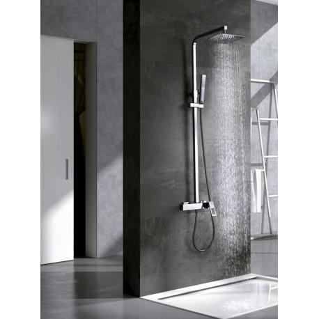 Conjunto barra ducha SAUCE cromo ambiente