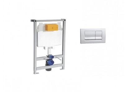 Bastidor con cisterna para inodoro suspendido
