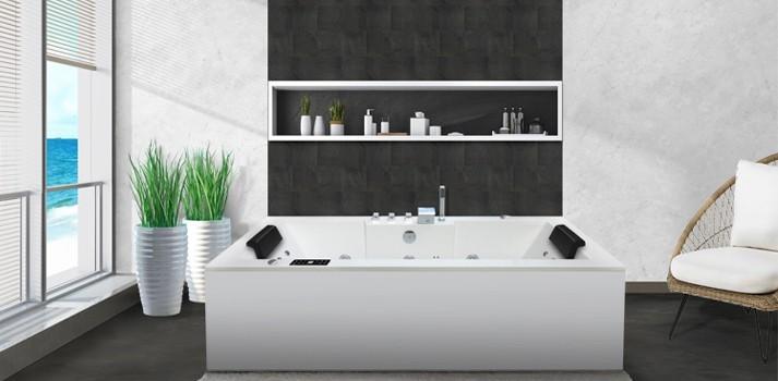 Bañeras de hidromasaje rectangulares