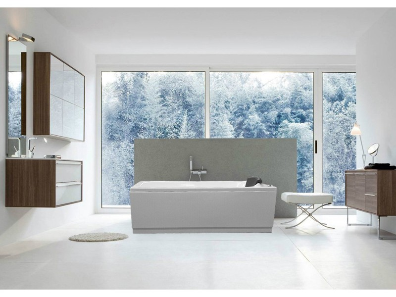 bañera de hidromasaje rectangular