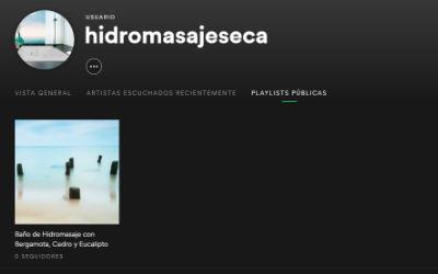 ¡Síguenos en Spotify HidromasajesEca!